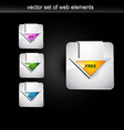display element vector image vector image
