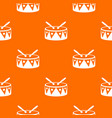 drum and drumsticks pattern seamless vector image vector image