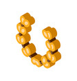 greek olive wreath isometric icon vector image vector image