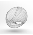 Lattice Geometric Polygonal Element vector image vector image