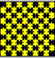 puzzle with optical vector image