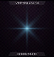 set of light effects vector image