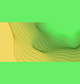 3d abstract background with paper cut vector image