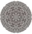 Black mandala for coloring Isolated element vector image vector image