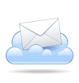 Cloud email vector image vector image