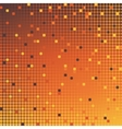 mosaic background orange vector image vector image
