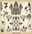 Old greek ornaments vector image vector image