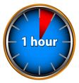 One hour vector | Price: 1 Credit (USD $1)