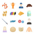 trade business hobby and other web icon in vector image vector image