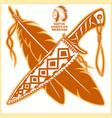 american indian logos vector image