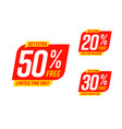 get extra 50 30 20 percent discount only