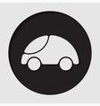 information icon - car vector image vector image