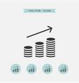 money icon simple vector image vector image