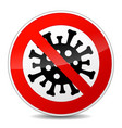 no virus sign icon
