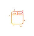 oven icon design vector image
