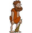 prehistoric man vector image vector image