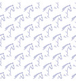 seamless pattern with blue horses vector image vector image