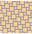 yellow tiles seamless pattern vector image