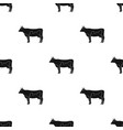 cowanimals single icon in black style vector image vector image