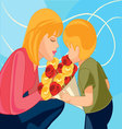 mother-and-child vector image vector image