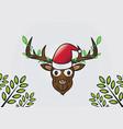realistic deer vector image