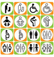 toilet sign-01 vector image