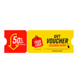 coupon template with exclusive offer up to 50