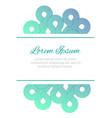 flyer design design templated minimalistic vector image