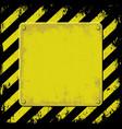 grunge plaque vector image