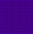 purple brick wall seamless texture vector image