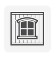 wall window icon vector image