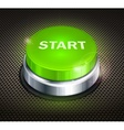 Button start vector image vector image
