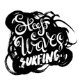 Steep Waves Surfing vector image