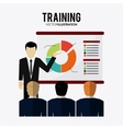 Training icon design vector image vector image