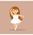 Little Ballerina vector image