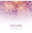 Abstract Textured Background Glitter Dust vector image vector image