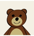 Bear Funny cartoon animal toy vector image vector image