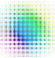 halftone pattern made in gradient vector image