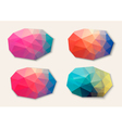 polygon abstract banners