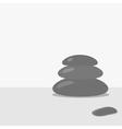 spa stone background Flat design vector image
