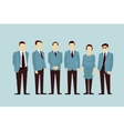 Concept of Group People flat avatars vector image vector image