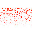 heart halftone valentines day background red and vector image vector image