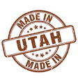made in Utah vector image vector image