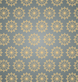 Retro Star Hexagon Pattern on Pastel Color vector image