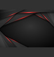 abstract background with dark gray metal layers vector image vector image
