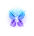 Abstract blue butterfly light vector | Price: 1 Credit (USD $1)