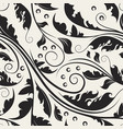 beautiful swirl background vector image vector image