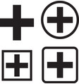 Medical icons set medical symbols