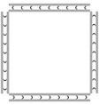 round ornament pattern mandala vector image