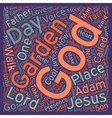 Tarry with Me text background wordcloud concept vector image